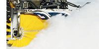 Дорожная уборочная щетка, сметающая снег